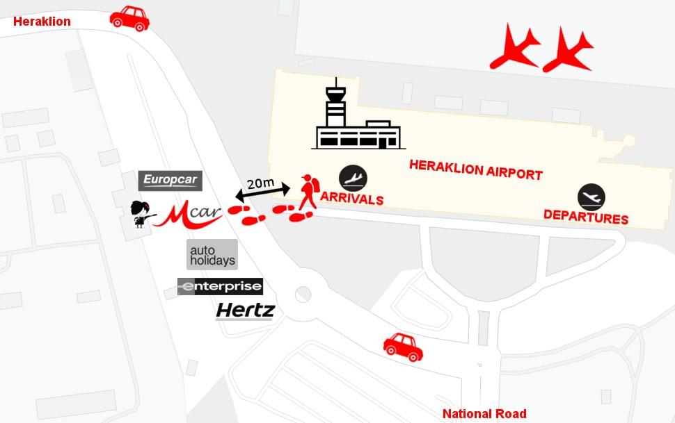 Heraklion Flughafen Station
